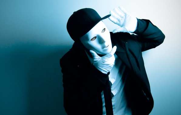 Picture style, background, movement, dance, mask, costume, dancer, dance, MIM, dancer, jabbawockeez, jabbawockeez, mim