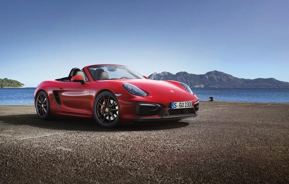 Picture car, machine, Roadster, Porsche, hq Wallpapers, Porsche Boxster GTS