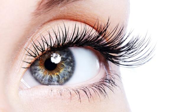 Picture woman, eye, eyelashes, pupil