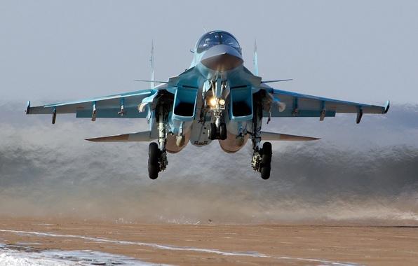 Picture bomber, the rise, su-34