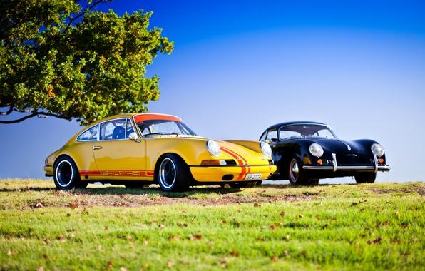 Picture car, 911, porsche, retro, carrera, hq Wallpapers