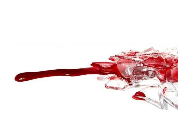Picture red, white, blood, blood