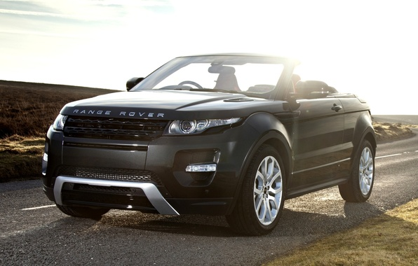 Picture road, the sky, concept, the concept, convertible, land rover, range rover, convertible, the front, crossover, …