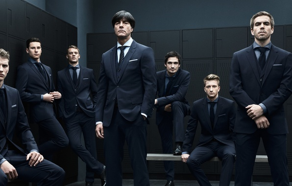 Picture Germany, locker room, team, football, costumes, bender, team, german, New, Manuel, Marco, Julian, Reus, Draxler, …