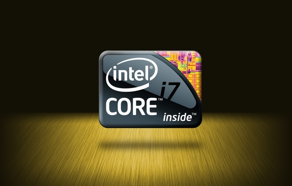 Picture logo, Core i7, Intel, processor, Extreme Edition