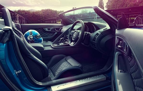 Picture auto, Concept, Jaguar, Jaguar, helmet, seat, salon, Project 7