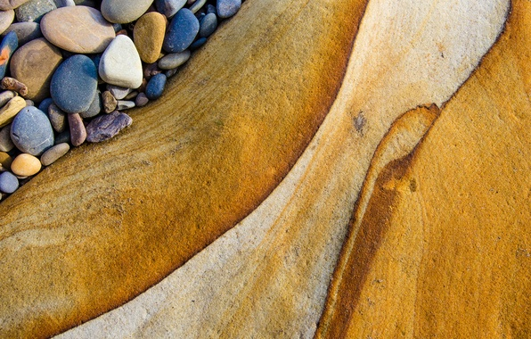 Picture macro, stones, abstraction, texture