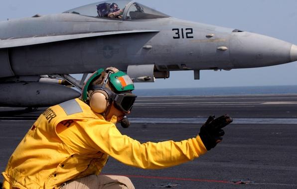 Picture plane, uniform, personal protective equipment