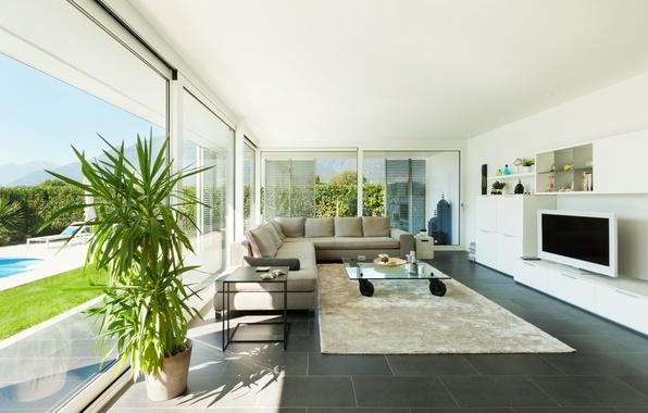 Picture interior, living room, living room, interior, stylish design, stylish design, modern Villa, Modern villa