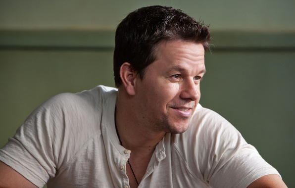 Picture smile, t-shirt, actor, Mark Wahlberg, Mark Wahlberg