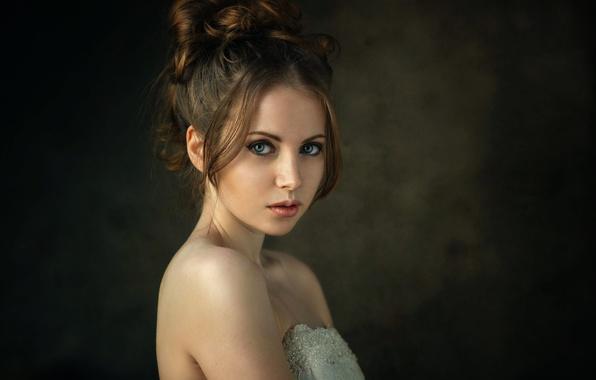 Picture portrait, the beauty, Studio, Nastya, Dennis Drozhzhin