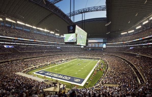 Picture football, stadium, fans, Texas, stadium, the audience, america, football, dallas, nfl, Dallas, cowboys, cowboys, texas