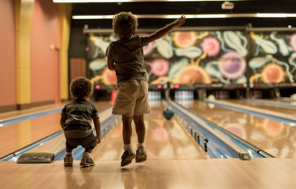 Picture sport, boys, bowling