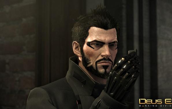 Picture Adam Jensen, Deus Ex: Mankind Divided, expressive look