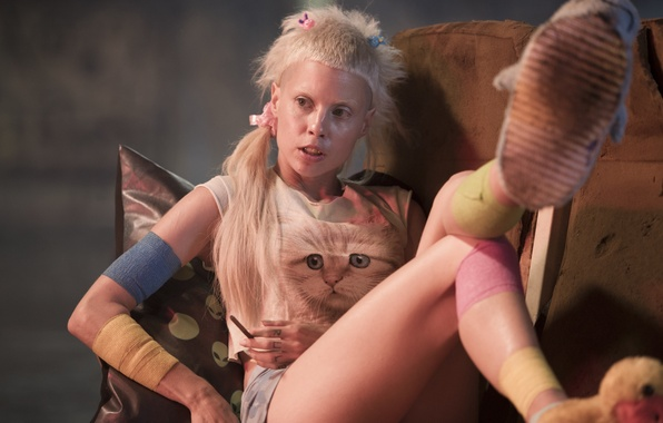 Picture Girl, Action, Fantasy, Beautiful, White, Wallpaper, Blonde, Movie, Film, Hair, Sci-Fi, Thriller, 2015, Image, CHAPPiE, …