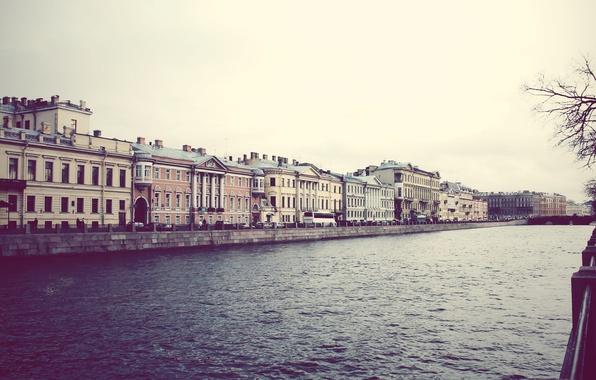 Picture river, building, home, Peter, Saint Petersburg, channel, Russia, St. Petersburg