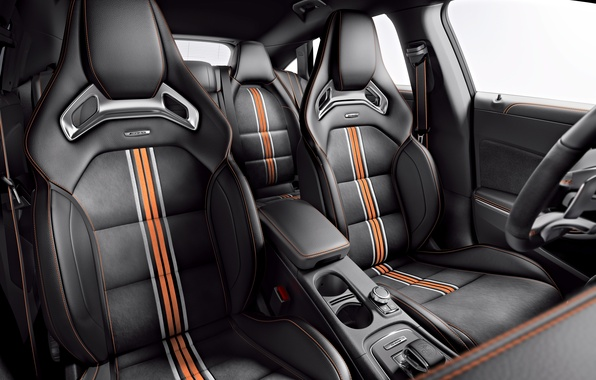 Picture Mercedes, Mercedes, AMG, AMG, Shooting Brake, CLA 45, 2015, X117, Orange Art