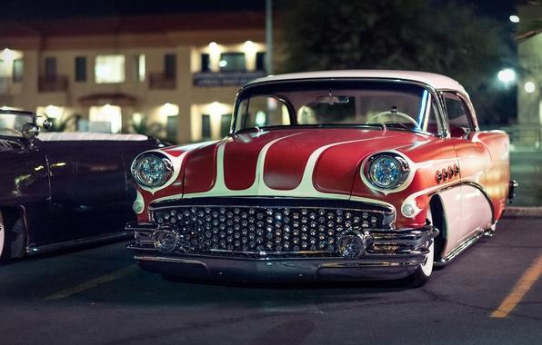 Picture retro, classic, 1956, Buick