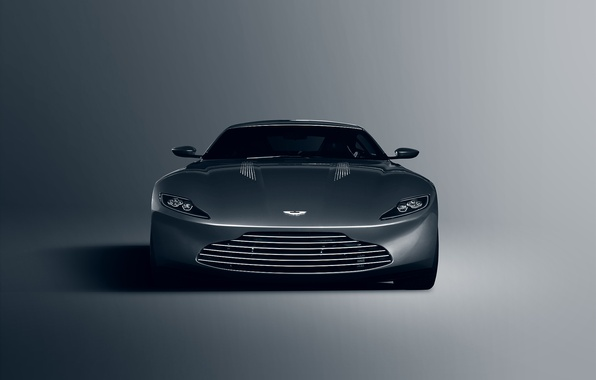 Picture Concept, Aston Martin, Front, James Bond, Silver, Unique, DB10