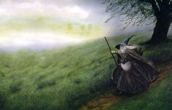 Picture figure, the Lord of the rings, fantasy
