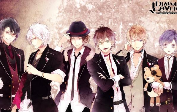 Picture guys, Diabolik Lovers, Sakamaki Kanato, Sakamaki Castle, Reiji Sakamaki