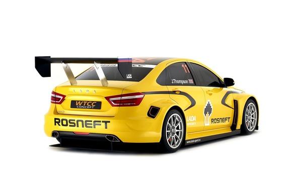 Picture Concept, Sport, Lada, Lada, WCC, Sport car, Vesta, Vesta