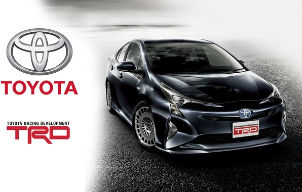 Photo wallpaper Toyota, Toyota, TRD, Prius, Prius