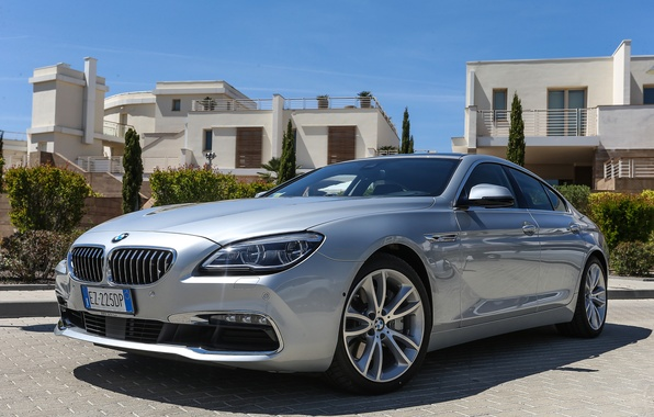 Picture BMW, coupe, BMW, Gran Coupe, xDrive, F06, 640d, 2015