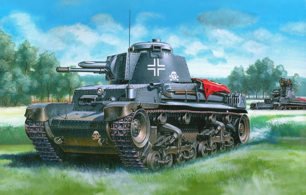 Picture Germany, the Germans, Tanks, the Wehrmacht, pz kpfw 35