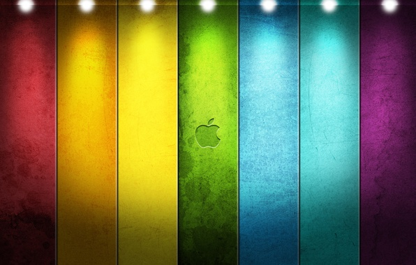 Picture line, style, tape, apple, Apple, logo, logo