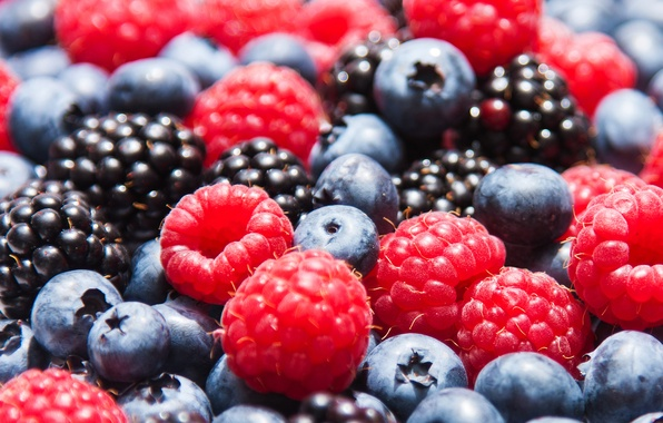 Picture berries, raspberry, blueberries, strawberry, BlackBerry, berries, blueberries, strawberries, blackberries, raspberries