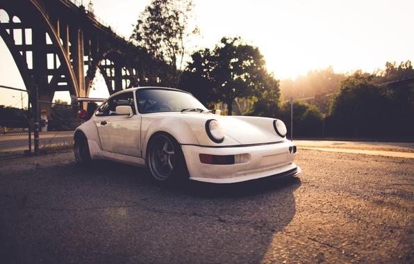 Picture white, 911, Porsche, Porsche, Carrera, 993