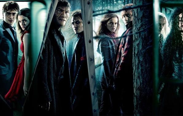 Picture Harry Potter, Emma Watson, Harry Potter, Ron Weasley, Hermione Granger, Rupert Grint, Helena Bonham Carter, …