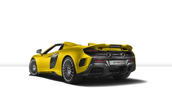 Picture McLaren, white background, supercar, McLaren, Spider, 675LT