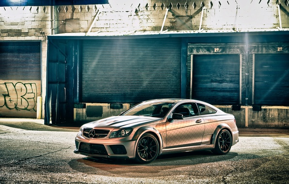 Picture Mercedes-Benz, Coupe, C63 AMG, Black Series