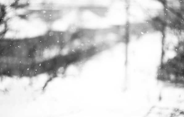 Picture winter, glass, macro, snow, snowflakes, mood, Windows, window, Blizzard, snowfall, Blizzard, glass