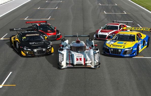 Picture Audi, Machine, Sports car, King of Endurance Racing