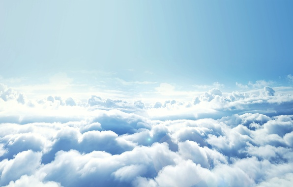 Picture the sky, clouds, height