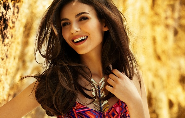 Picture girl, smile, celebrity, actress, girl, Victoria Justice, celebrity