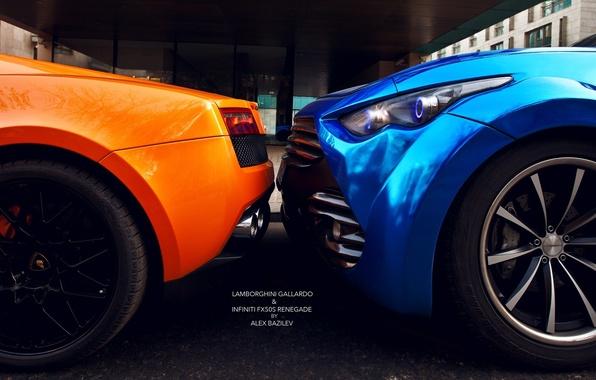Picture machine, Lamborghini, photographer, Infiniti, drives, auto, photography, photographer, feed, Alex Bazilev, Alexander Bazylev, Alexander Bazilev