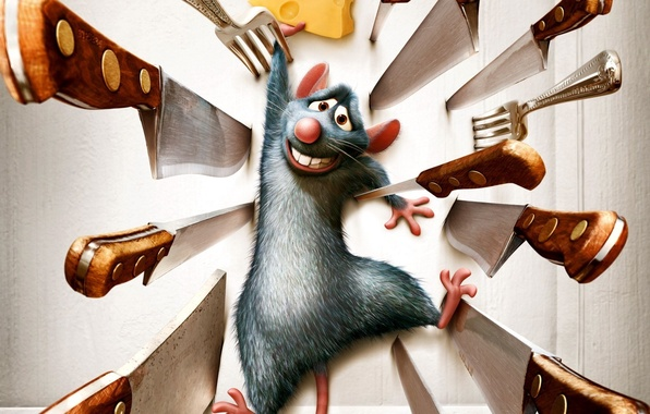 Picture cartoon, Ratatouille, mouse