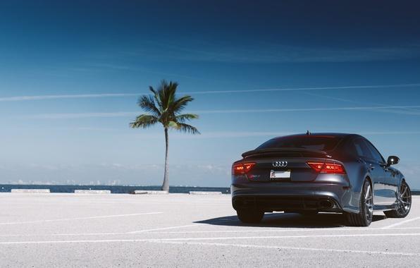 Picture Palma, Audi, Audi, rear, parking, RS7