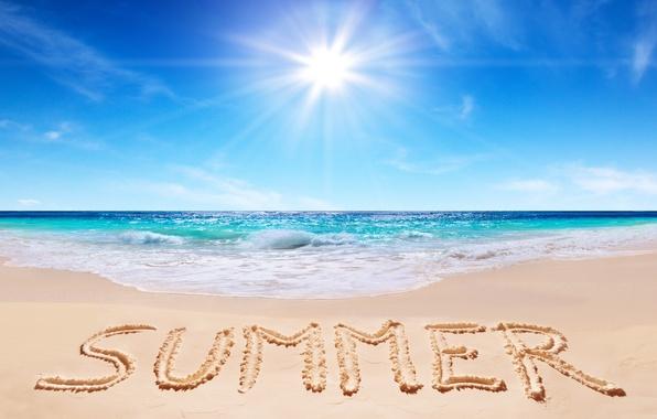 Picture sand, sea, wave, beach, shore, summer, sunshine, beach, sea, sand, shore, paradise