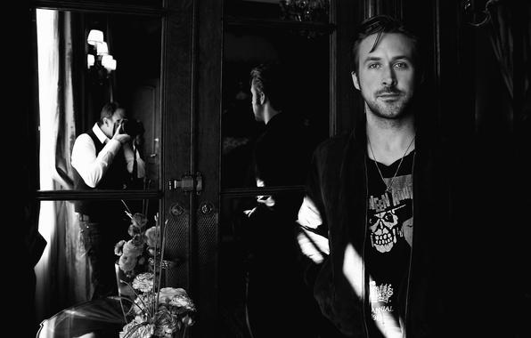 Wallpaper Ryan Gosling, Ryan Gosling, Canadian Actor, Ryan