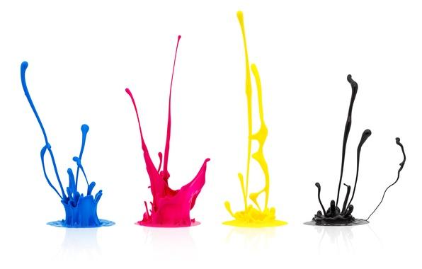 Picture colors, splatter, paint