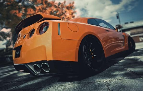 Picture car, machine, supercar, Nissan, GT-R, cars, jdm, gtr