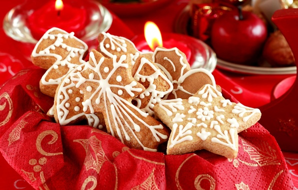 Picture holiday, new year, Christmas, cookies, sweets, christmas, new year, cookies, Christmas