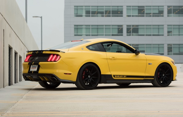 Picture car, auto, Mustang, Ford, Shelby, Mustang, Shelby, yellow