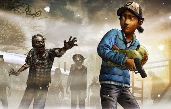 Picture Look, Weapons, Zombies, The situation, Telltale Games, A Telltale Games Series, Survivors, Clementine, The Walking …