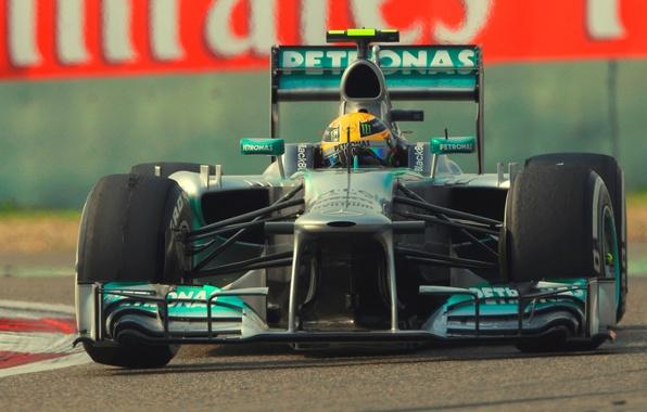 Picture formula 1, mercedes, the car, Race, Lewis